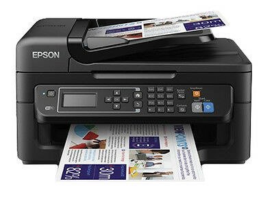 Epson WF-2630WF All-in-One Inkjet Printer with ink