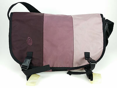 Timbuk2 Commute Messenger Shoulder Bag Purple Stripes Medium
