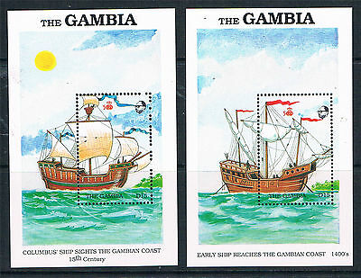 Gambia 1988 Exploration of West Africa MS SG 833 MNH