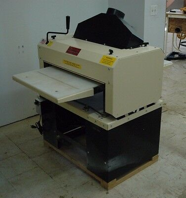 """Woodmaster 25"""" Planer W-725 5HP 220V Power Feed 110V With Pro Pack not W-718"""