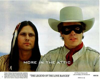 The Legend Of The Lone Ranger Original Vintage Portrait Mini Lobby Western