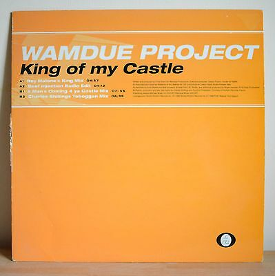 "Wamdue Project 'King of my Castle' Various Mixes - 12"" Vinyl Good Cond"
