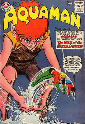 SILVER AGE - AQUAMAN COLLECTION - 240+ COMICS on DVD