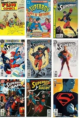 Superboy - The Collection - 200+ Comics On Dvd