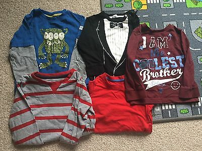 Boys Long Sleeved Tops 12 - 18 Months