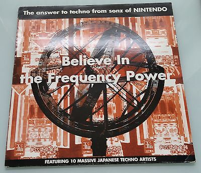 Believe In The Frequency Power - VARIOUS ARTISTS / Japanese Techno Vinyl LP 1994