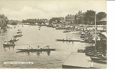 Henley On Thames From The Bridge Publisher St & Co 1920's