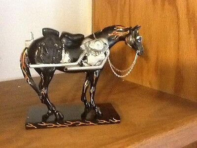New Trail of Painted Ponies Motorcycle Mustang