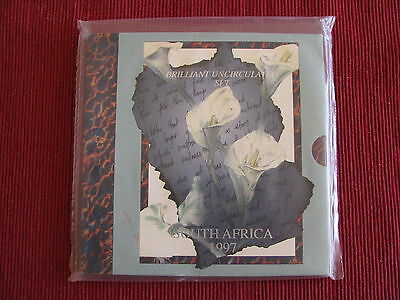 South Africa 1997 Mint BRILLIANT UNCIRCULATED SET - 9 Coins