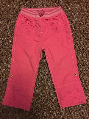 George Girls Casual Pink Trousers Age 2-3