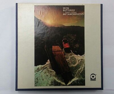 """Iron Butterfly """"Metamorphosis"""" 4 track reel to reel tape in ex play tested cond"""