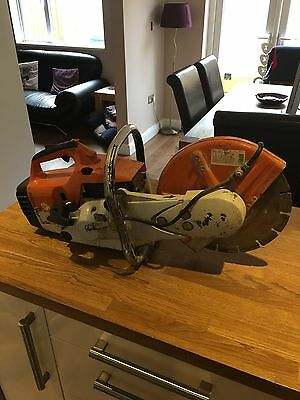 Stihl ts400 Disk Cutter With Blade