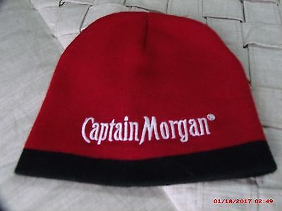 FREE SHIPPING PRE-OWNED Captain Morgan Spiced Rum - Knit Winter Style hat