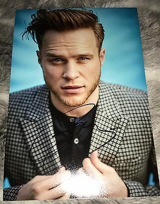 Olly Murs Hand Signed Photo Genuine AUTOGRAPH Music Legend X-Factor