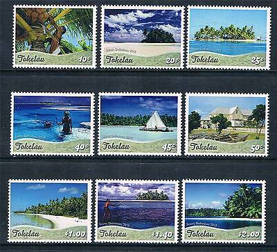 Tokelau 2012 Scenic Definitives MNH