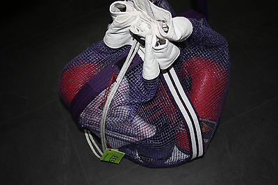 Handmade, Purple, re-cycled Martial Art Belts, Training, Sparring, Kit Bag - 533
