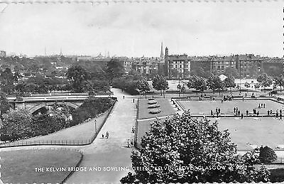 BR70688 the kelvin bridge and bowling real photo sport  glasgow  scotland