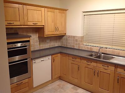 Shaker Style kitchen including appliances.
