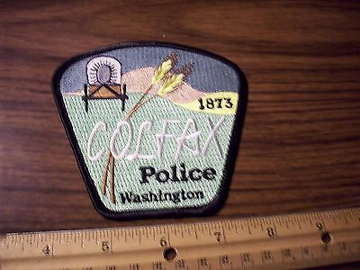 Washington State Police Patch's City of Colfax