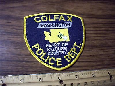 Washington State Police Patch's City of Colfax Older