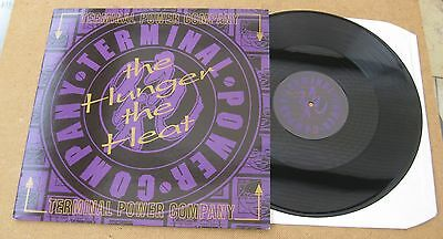 """TERMINAL POWER COMPANY - THE HUNGER THE HEAT 12"""" 3 track UNPLAYED - LISTEN"""