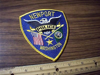 Washington State Police Patch's  City of Newport