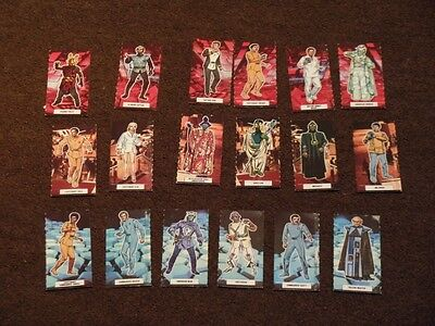 WEETABIX Cards 1979 Star Trek The Motion Picture - complete set