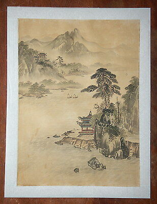 Chinese Painting or Print on Silk