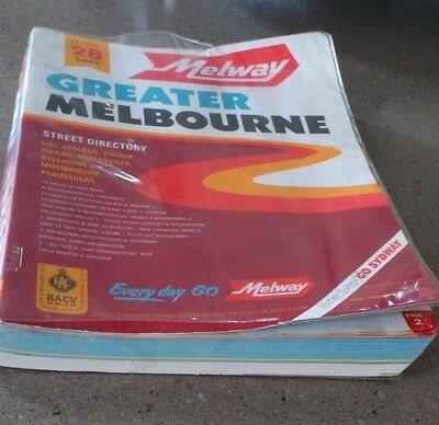 Melway Street Directory Melbourne - 2001 Edition