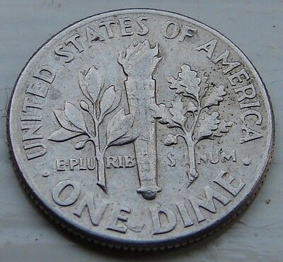 1975 USA Roosevelt One Dime Coin