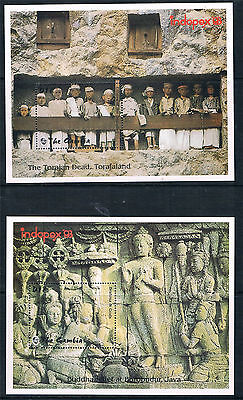 Gambia 1993 Indopex 93 2x MS SG 1640 MNH
