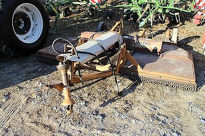 Woods Cadet 121 10' Rotary Cutter for Tractors. Front & Rear Chain Shielding