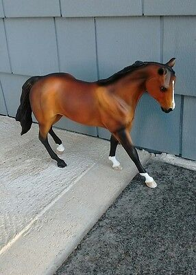 Artist resin horse painted by Taylor Trent