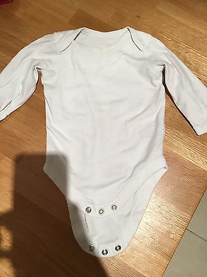 Long Sleeved Baby Grow 3-6 Months