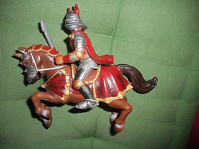 Knight on a horse toy