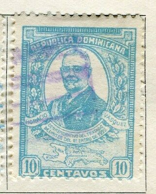 DOMINICA;  1929 early portrait issue fine used 10c. value