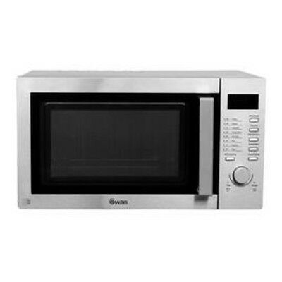 Swan SM 22040 23-Litre Solo Microwave Oven - Stainless Steel RRP£109.99
