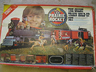 Timpo Prairie Rocket - The Great Train Hold-up Set