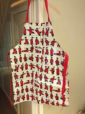 brand new kitchen apron chelsea pensioners