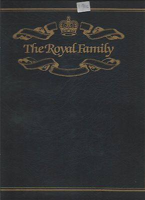 Royal Collection In Westminster Album Of Fdc's With Silvery Coins