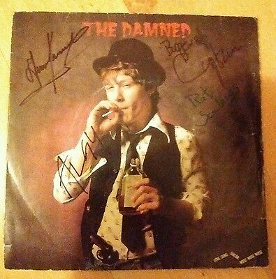 "The Damned - Love Song 7"" single red vinyl (Signed)"