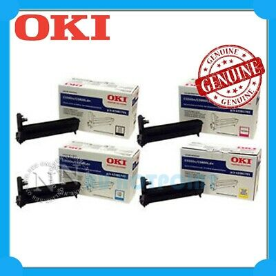 OKI Genuine 44844481-44844484 BK/C/M/Y Drum Unit Set>MC853/MC853dn/MC873/MC873dn