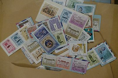 60x Hungary/ Hungarian used postage stamps -  philately postal mail