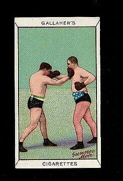 Gallaher 1912 Superb ( Boxing Stance ) Type Card 35 Boxing - Sports Series