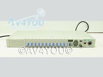RTS MKP-12 12-Position Value Series Intercom Rackmount Keypanel with Mic Zeus