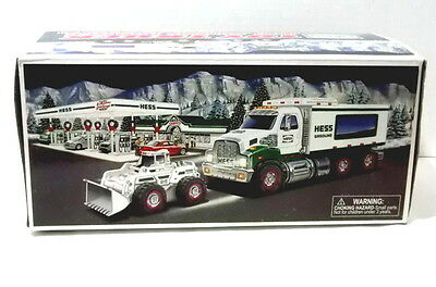 Hess 2008 Toy Truck And Front Loader Mint Condition Original Box