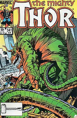 Thor #341 (Mar 1984, Marvel) Copper Age Comic Book