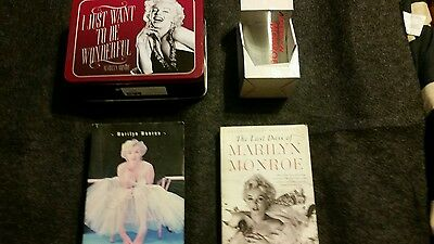 Marilyn Monroe Collectibles Books Lunch Box