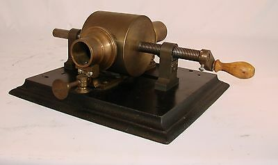 Replica Machinist Made EDISON KRUESI TINFOIL PHONOGRAPH  Excellent!