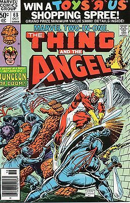 Marvel Two-In-One #68 (Oct 1980, Marvel) Bronze Age Comic Book